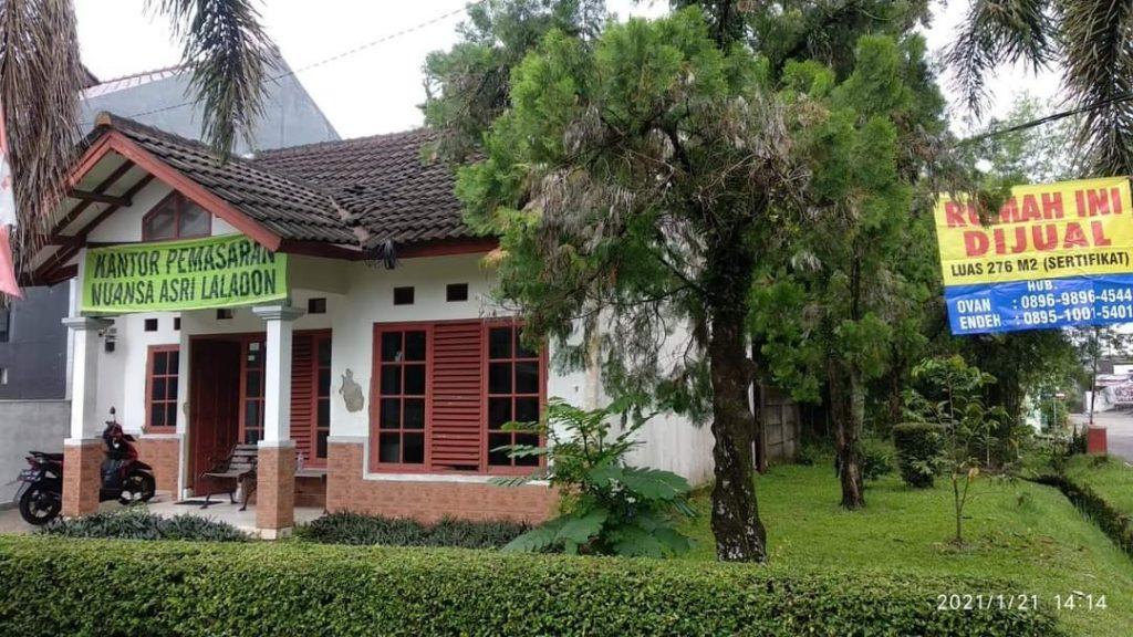Bogor Laladon rumah dijual